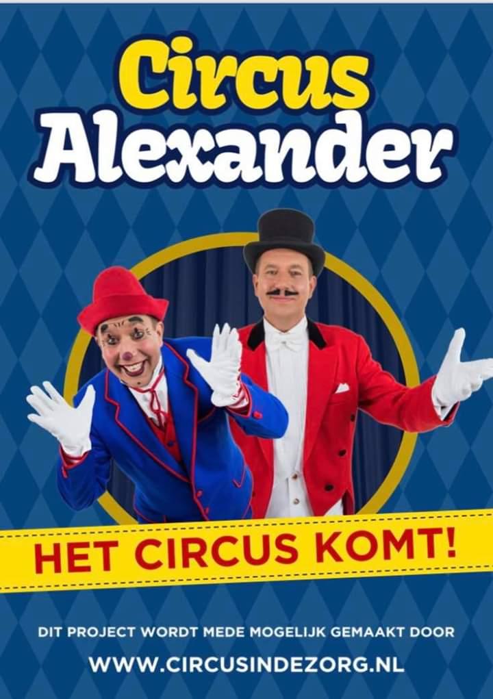 Aanmelden Voor Circus in de Zorg 2019